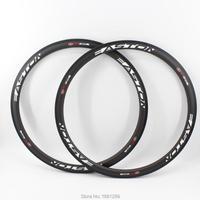2Pcs Brand New 700C Road Bicycle 38mm Bike Wheels Matt UD Full Carbon Rim Tubular Basalt