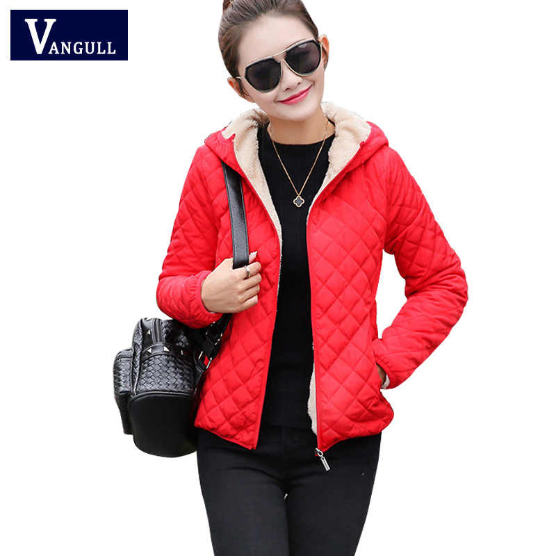 a24d5a65691 Женская зимняя куртка с капюшоном флисовое однотонное пальто 2017 Осень  Весна тонкая верхняя одежда женская короткая