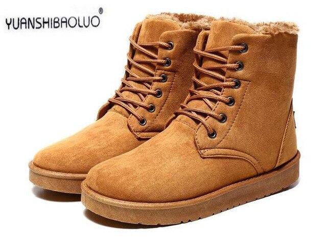 Vendas quentes dos homens para se manter aquecido botas de inverno com botas de veludo lazer espessamento masculino Martin sapatos de algodão