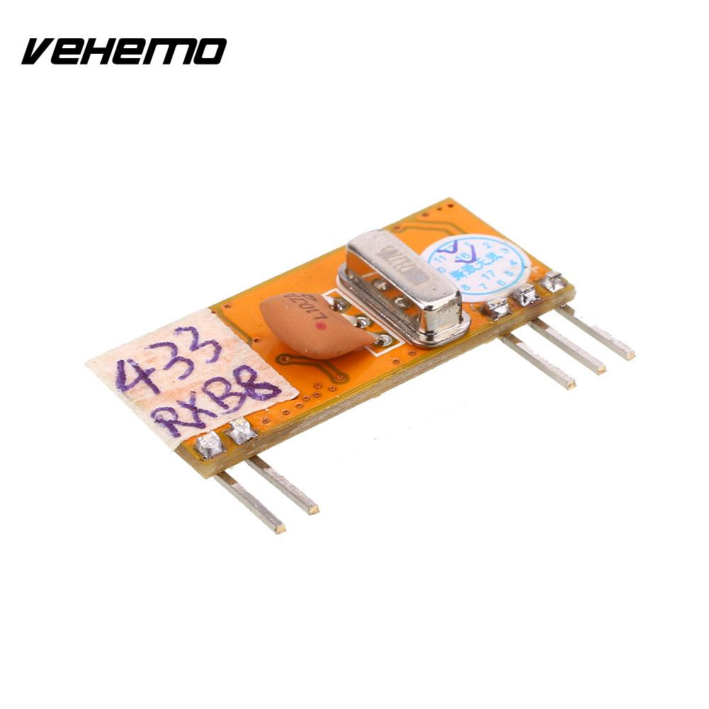 Vehemo Vehemo 433MHz-114dBm DC3-5V Electronic Wireless Remote ASK RF Signal Receiver Module