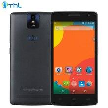"""Оригинал THL 2015A Сотовый Телефон 2 Г RAM 16 Г ROM MT6735 Quad Core 1.3 ГГЦ 2700 мАч 5.0 """"камера 13.0MP Android 5.1 Dual SIM Смартфон"""