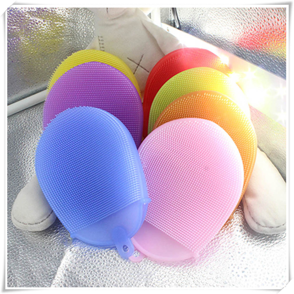 Silicone cleaning brush xq3