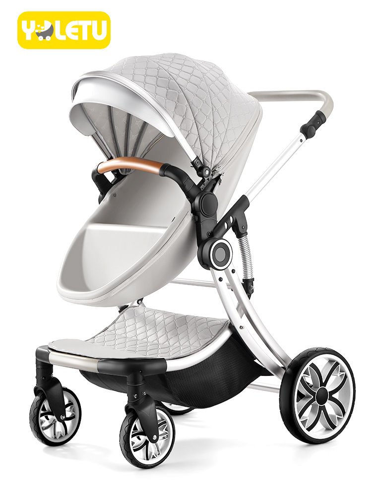 delivery of free new quality model is beautiful with a high and portable appearance, double-sided for newborns suitable 0-6 year цены