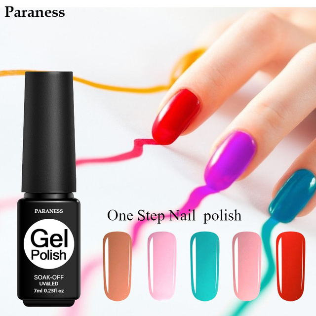 Paraness Foil Adhesive Led Uv Color Nail Art Professional One Step