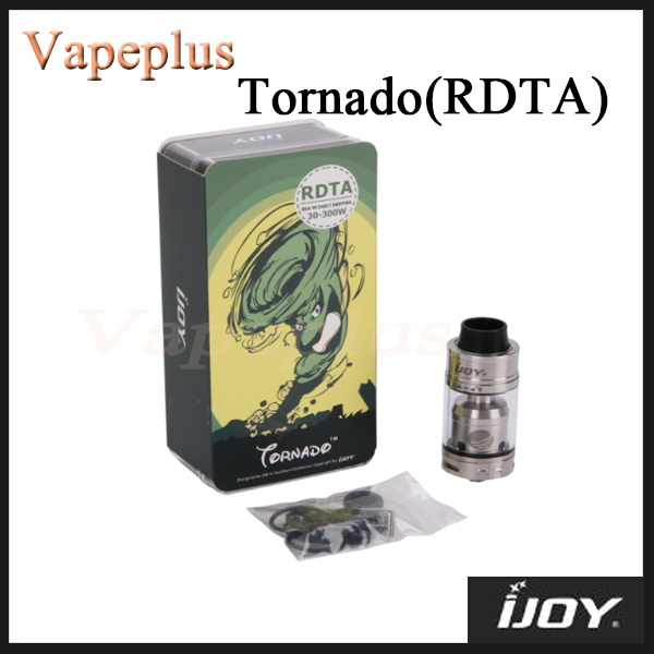 Original IJOY Tornado Tank 2 Post Deck RDTA 5ml Capacity Top filling Tank with 510 thread