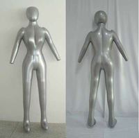 New Female Full Body Hat Dress Pants Inflatable Mannequin Dummy Torso Model Free Shipping