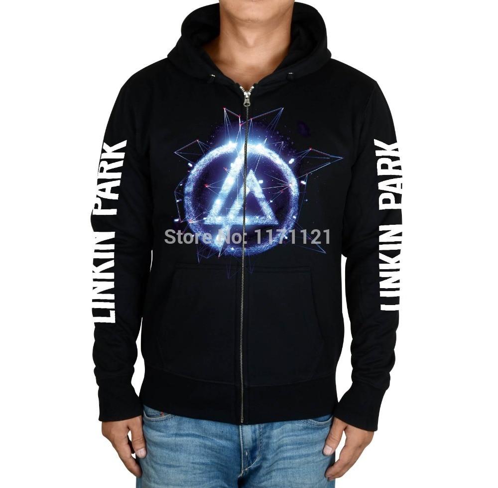 Free shipping Linkin Park Meteora Rock Graphic 100 cotton font b hoodie b font