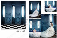 Room Blue Wall Personalized Photography Backgrounds High-quality Vinyl cloth Computer printed wedding backdrop backdrops