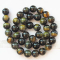 (Min. Order is $10) 1Strand Beautiful10mm Tiger Eye Gem Round Loose Bead 15.5inch A-9748