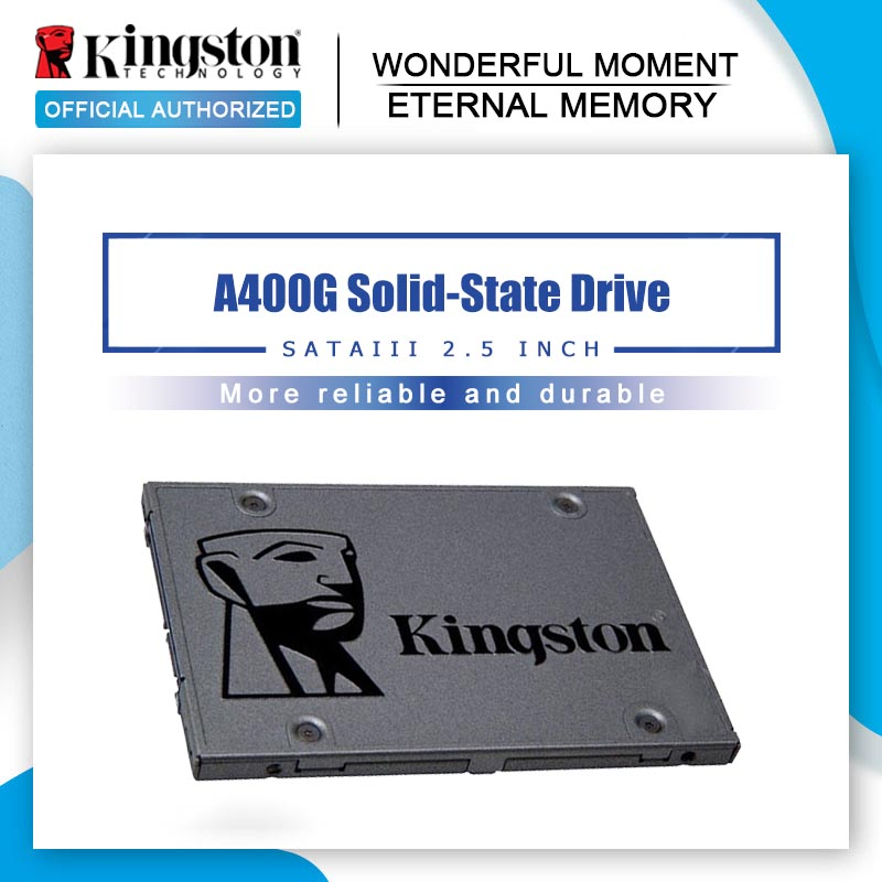 Kingston Solid-State-Drive SSD HDD Hard-Disk 240GB Internal Sata-Iii 120G . PC 480G A400 title=