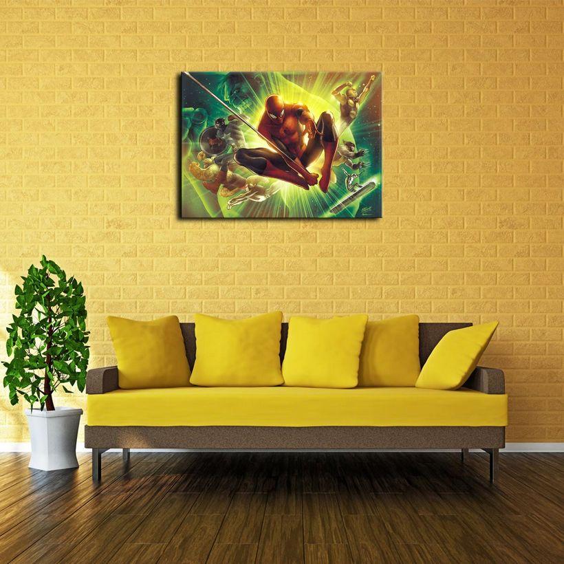 Attractive Justice League Wall Decor Photo - Wall Art Design ...