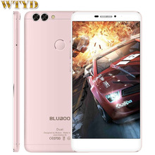 "4 Г BLUBOO Двойной 2 ГБ + 16 ГБ Двойные Задние Камеры Идентификации Отпечатков Пальцев 5.5 ""Android6.0 MTK6737T Quad Core до 1.5 ГГц LTE"