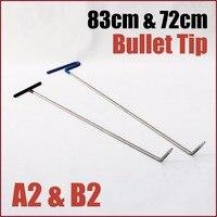 single bend right bullet tip brace dent rod dent puller kit car body paintless dent repair pdr tools dent pulling system hooks