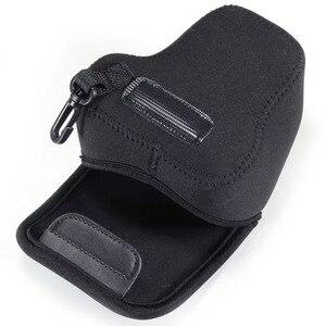 Image 5 - LimitX housse Portable en néoprène souple et étanche pour appareil photo intérieur pour Canon EOS M200 M100 M10 M6 M3 avec objectif 15 45mm seulement