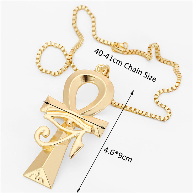 новое поступление винтажное ожерелье египетского глаза святых фотография