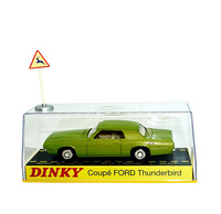 Dinky Toys Atlas 1419 1/43 COUPE FORD THUNDERBI Hot Alloy Diecast Car Model Collection Toys for Children Adult Wheels
