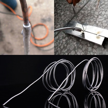 1.5mmx65cm/1.5mmx80cm Low Temperature Aluminum Solder rod Welding Wire Flux Cored Soldering Rod цены