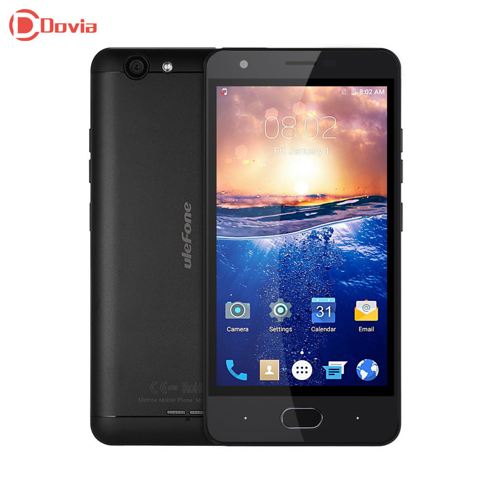 Ulefone u008 pro 4g desbloqueado smartphone 5.0 pulgadas android 6.0 MTK6737 Qua