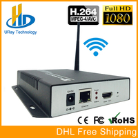 1080P 1080I H 264 HDMI To LAN Video Encoder WiFi Live Stream Encoder Converter HD Wireless Video Audio Transmitter