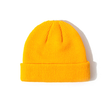 49be958117f00a 2019 New 1PC Cotton Thick Knitting Hat Solid Warm Winter Beanie Caps Yellow  Red Black Grey