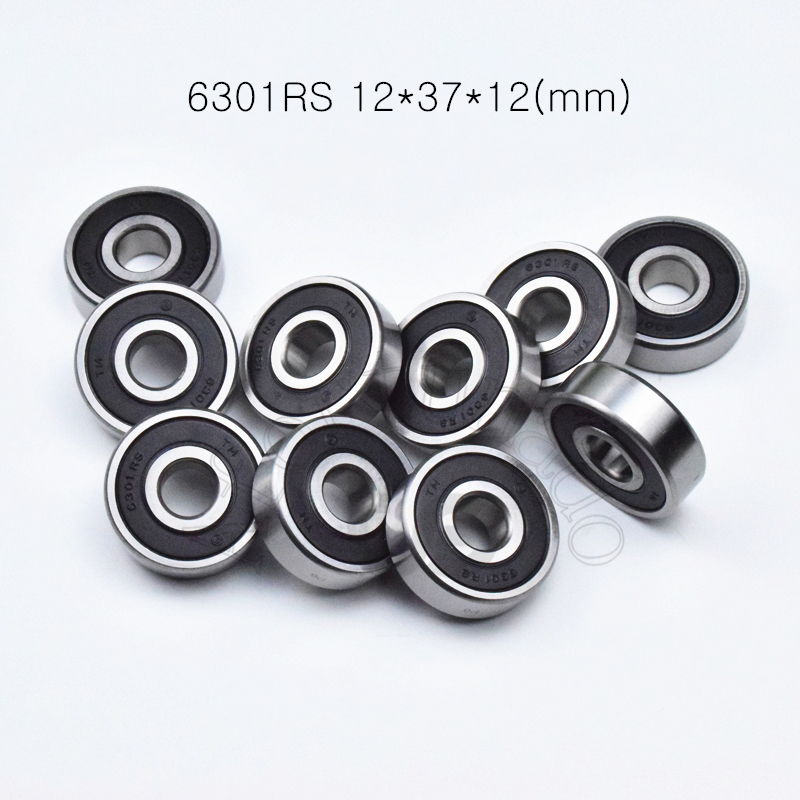 6301RS 12*37*12(mm) 1Piece  free shipping bearings  6301 6301RS chrome steel deep groove bearing6301RS 12*37*12(mm) 1Piece  free shipping bearings  6301 6301RS chrome steel deep groove bearing