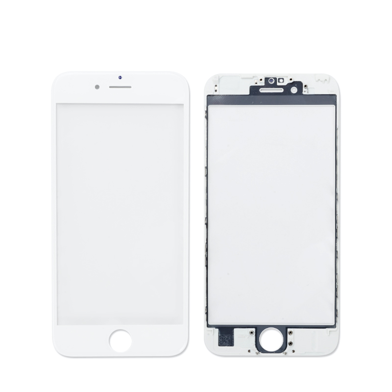 High Quality Screen Digitizer+Frame for iPhone 6s Touch Screen LCD Front Touch Panel Glass Outer Lens Black&White Free Shipping