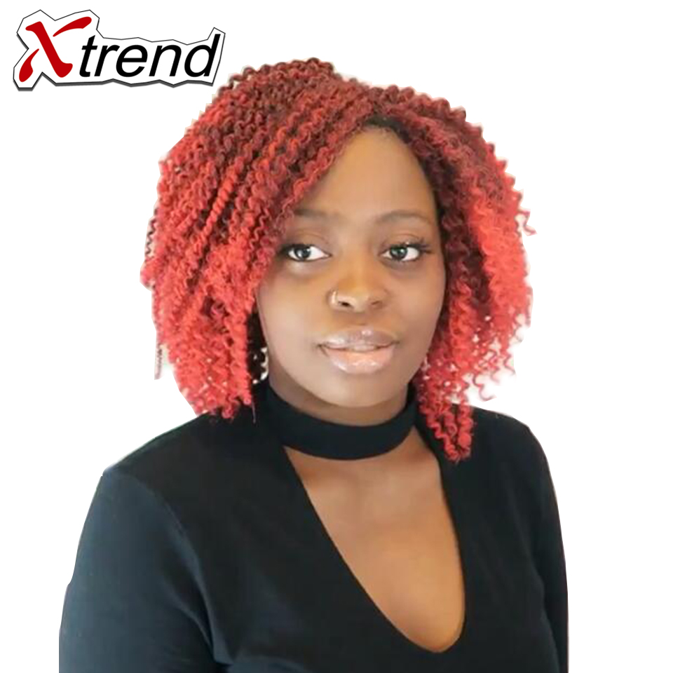 Xtrend 9pieceslot Synthetic Afro Curly Twist Crochet Braid Hair 8