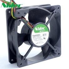 Nidec TA450DC B34262-34 12V 0.8A 12038 12cm large air flow cooling fan  120*120*38mm