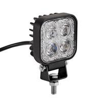 2Pcs Mini 12W 4x3W Car LED Light Assembly Offroad Work Light Flood Lamp For Jeep AWD