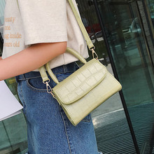 Women Shoulder Bags 2019 Fashion Retro Pure Color Vintage Leather Handbags Messenger Solid Color Simple Crossbody Bag bolso