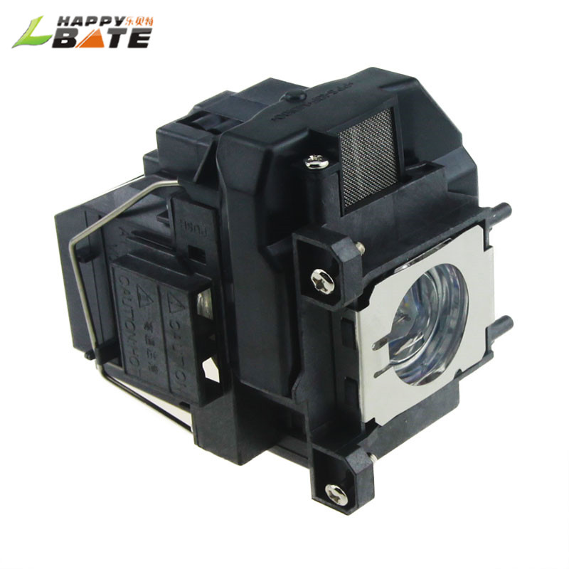 HAPPYBATE Projector lamp with Housing V13H010L67 for EB-S02 EB-S11 EB-S11H EB-S12 EB-SXW11 EB-SXW12 EB-W01 EB-W02 EB-W110 EB-W12