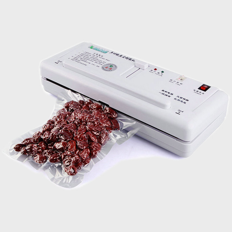 Mini household and commercial dual use sealing machine Delicatessen sausages Vacuum sealer kitchen appliances