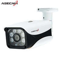 New 2MP IP Camera 1080P Security Home CCTV IR 6PCS Array LED Bullet Metal Waterproof Outdoor