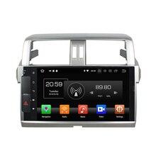 "4 ГБ + 32 ГБ Octa Core 10,1 ""Android 8,0 автомобилей Радио DVD мультимедиа gps для Toyota Prado 150 2014 2015 2016 2017 WI-FI Bluetooth"