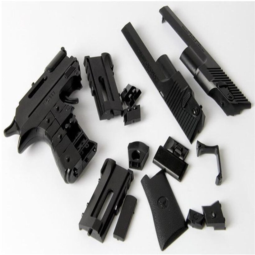 Hot Sell Creative Diy Manual Assembling Airsoft Pistol Soft Bullet Toy Gun Boy Toys Gifts Orbeez Airsoft Air Guns Outdoor Toys