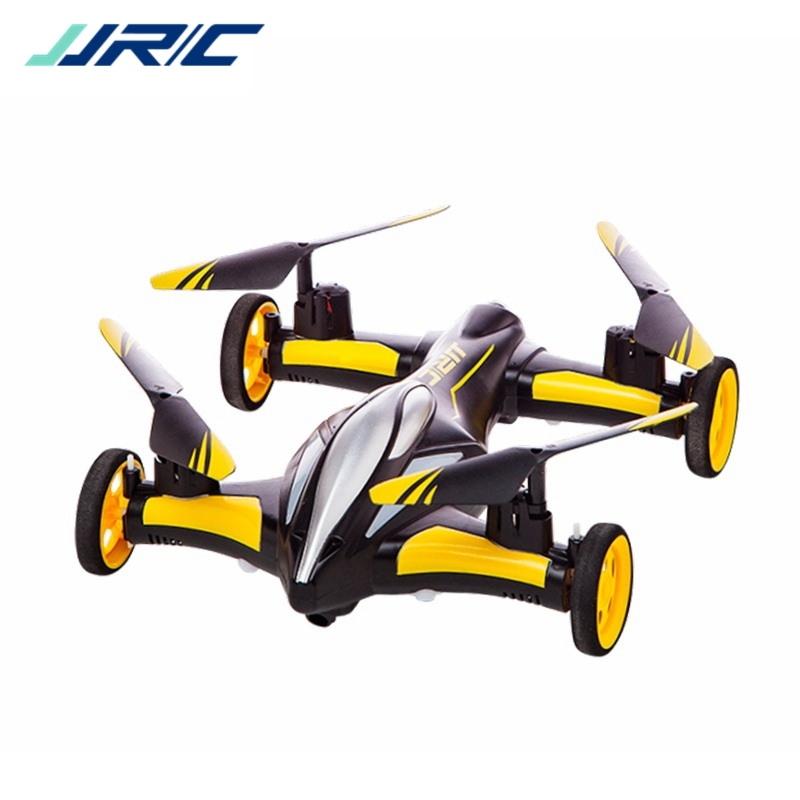 New JJRC H23 Air Ground Flying Car 2.4G 4CH 6Axis 3D Flips Flying Car One Key Return RC Drone Quadcopter Toy RTF VS CX10WD X5C