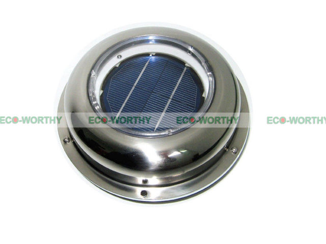 fan vent. usa stock solar powered exhaust roof fan vent ventilation w/ battery for car camper canopy
