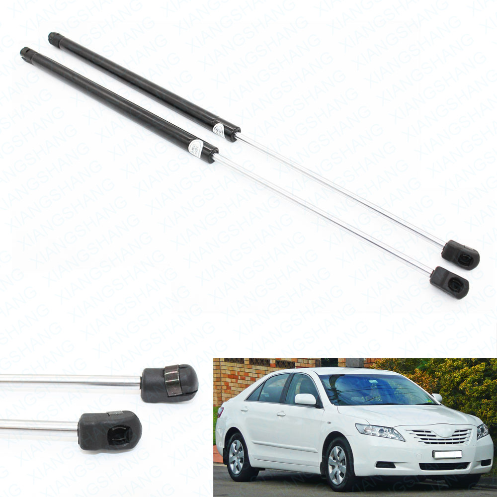2pcs Front Bonnet Hood Gas Charged Gas Struts Lift support For Toyota Camry 2007 2008 2009