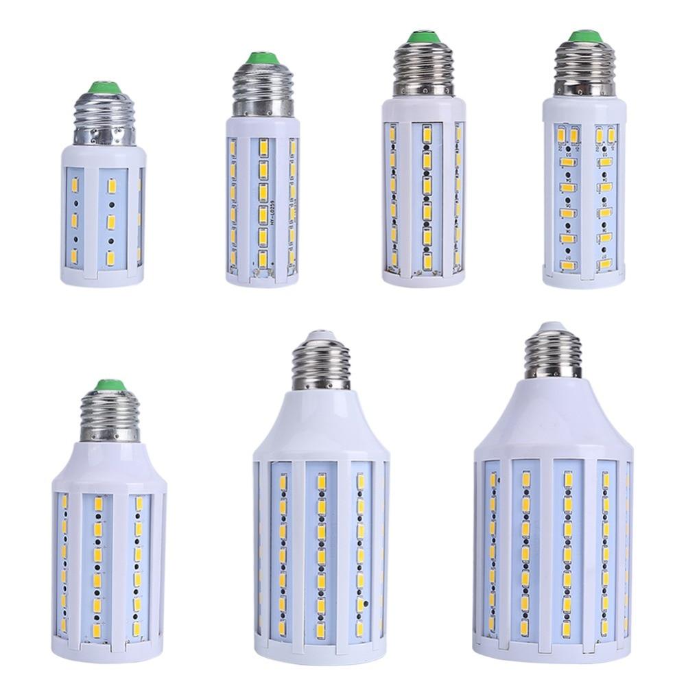7W 9W 10W 15W 25W LED Lamp 5630 SMD E27 E14 LED Bulb 220V 110V Energy Saving LED Corn Light Lampada Cold/Warm White 7w led lamp smd 5630 36led e27 warm