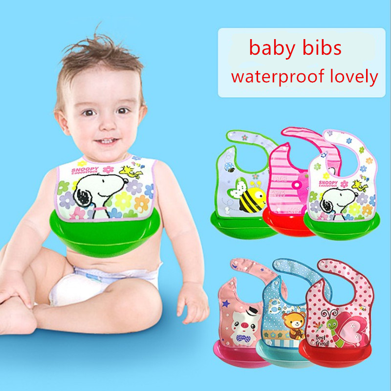 baby waterproof bib girl bibs silicone smock toddler apron infant burp cloth drool bibs newborn thing saliva children stuff