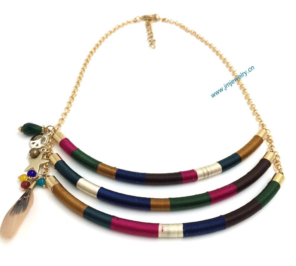 Buy 2016 New Fashion Jewelry Handmade Necklace Wholesale Boho Style Collier