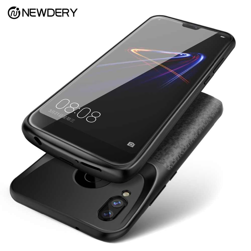 NEWDERY newest battery case for Honor Play 8 8X 9 9X 10 Lite power external charger case for Huawei P20 Lite Nova 3e power bank