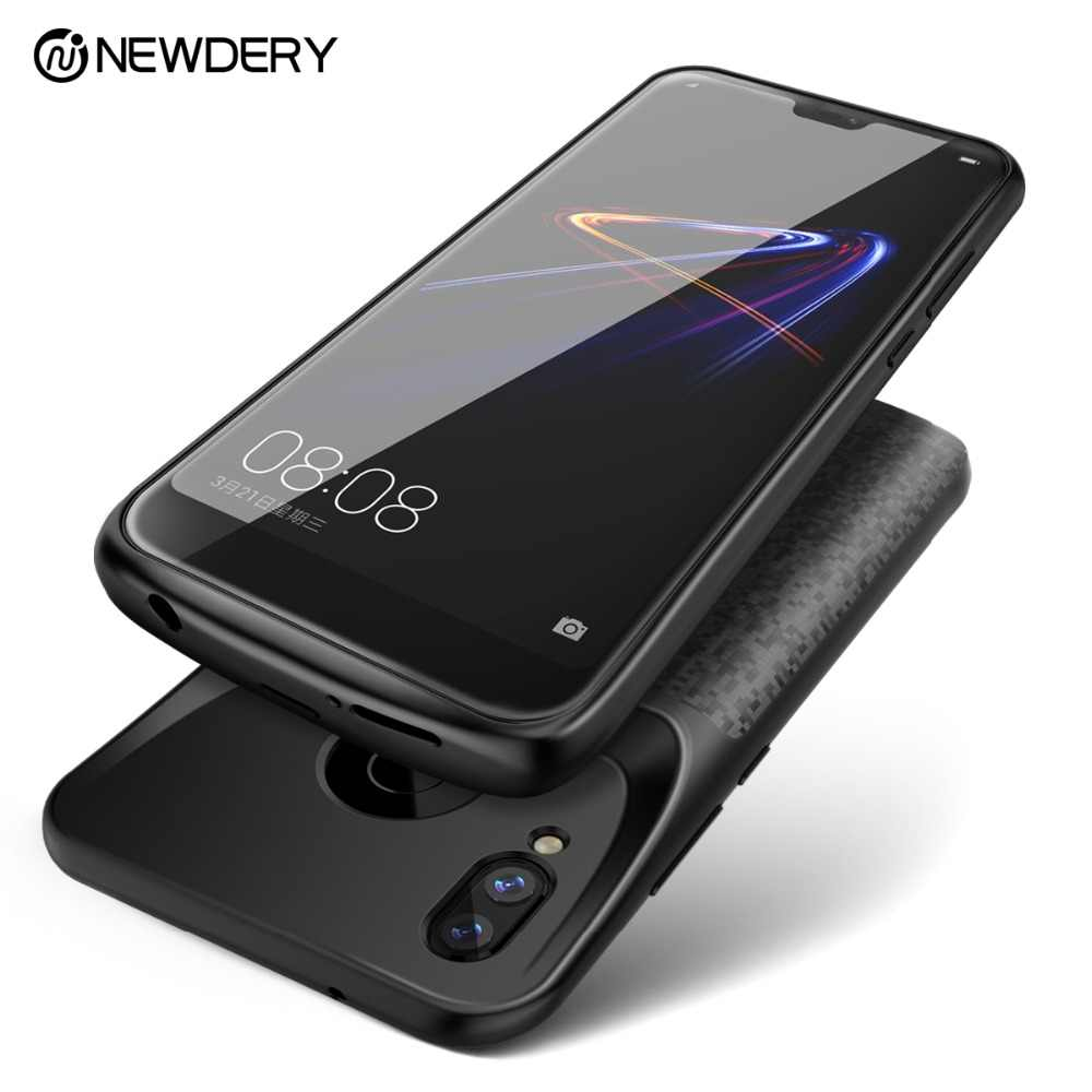 Новый аккумулятор чехол для Honor Play 8 8X9 10 Lite power чехол с внешним зарядным устройством для huawei P20 Lite Nova 3e power bank
