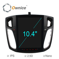 Ownice 8 Core Android 6.0 Car DVD Player Radio for Ford Focus 2012 2013 2014 2015 with Car play 10.4 / 9.7 IPS 2.5D Screen