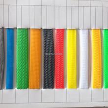 10 м цвет; изоляционный кабель в оплетке, 3/4/6/8/10/12/14/16 мм плотный PET, проволочные тросы защиты расширяемый кабель рукав провода ткацкий станок