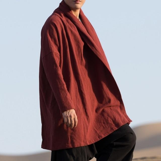 الملابس الصينية التقليدية للرجال الذكور سترة الشتاء الشرقية للرجال وشو الكونغ فو الزي الملابس السترات الرجال 2019 TA1139