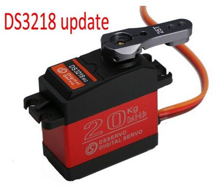 4 pcs Waterproof servo 20KG/.09S DS3218 Update or PRO high speed metal gear digital servo baja servo for 1/8 1/10 Scale RC Cars(China)