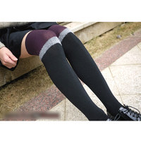 4 Pairs Fashion Over-knee comfortable Patchwork Leg warmer for Women/female/girl/lady, Clothes dance Accessories Boot cuff LM901