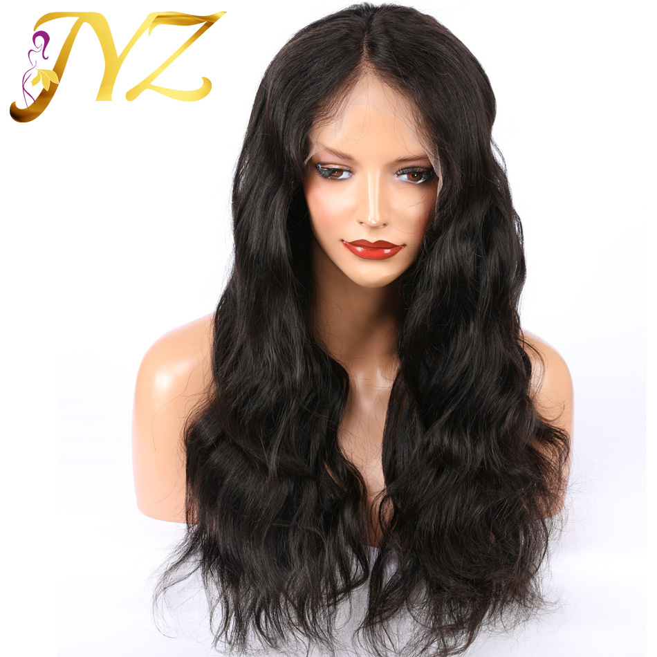 JYZ Lace Front Human Hair Wigs 13x4  Lace Wigs Remy Brazilian Hair Body Wave Wig Lace Front Wig Pre Plucked With Baby Hair