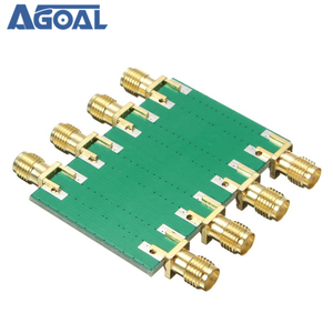 Image 4 - DC 4.0GHz 200mW DC 4.0GHz RF קבוע מחליש SMA כפול נקבה ראש 0dB 10dB 20dB 30dB